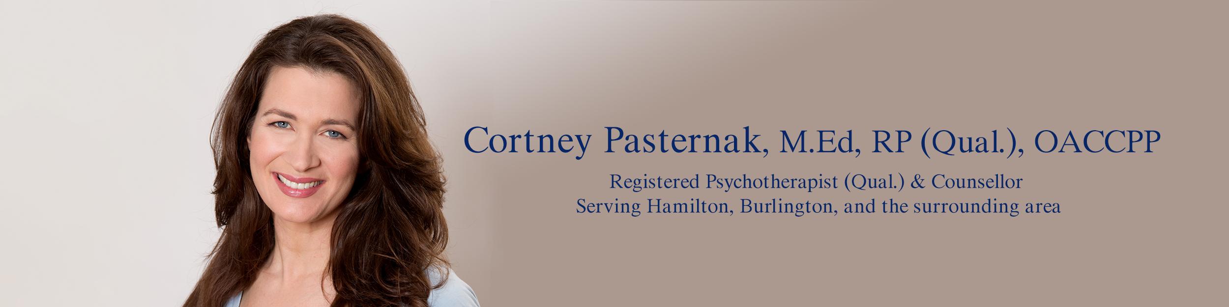 Cortney Pasternak,  Counsellor