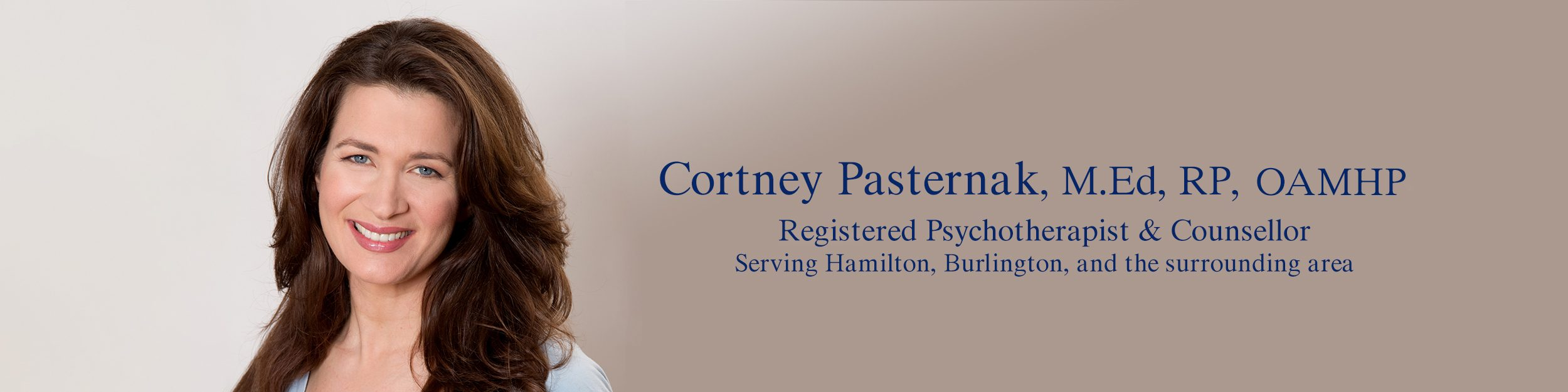 Cortney Pasternak,  Counsellor